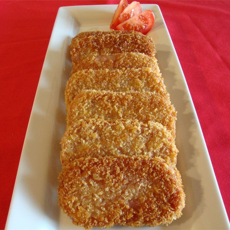 Breaded SPAM® Steaks pelicangal