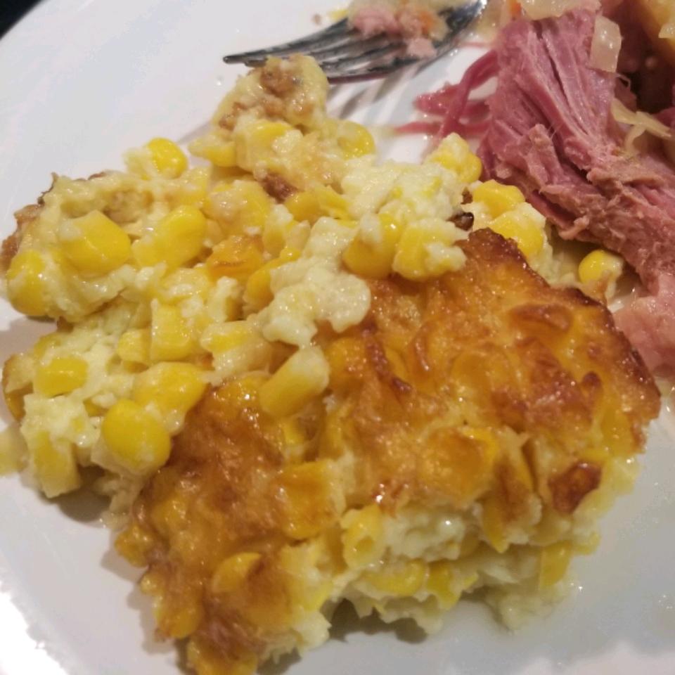 Grandma's Corn Pudding Nicole Jensen