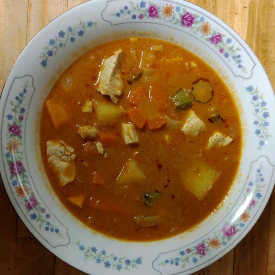 Zimbabwean Chicken and Vegetable Soup Ed3366