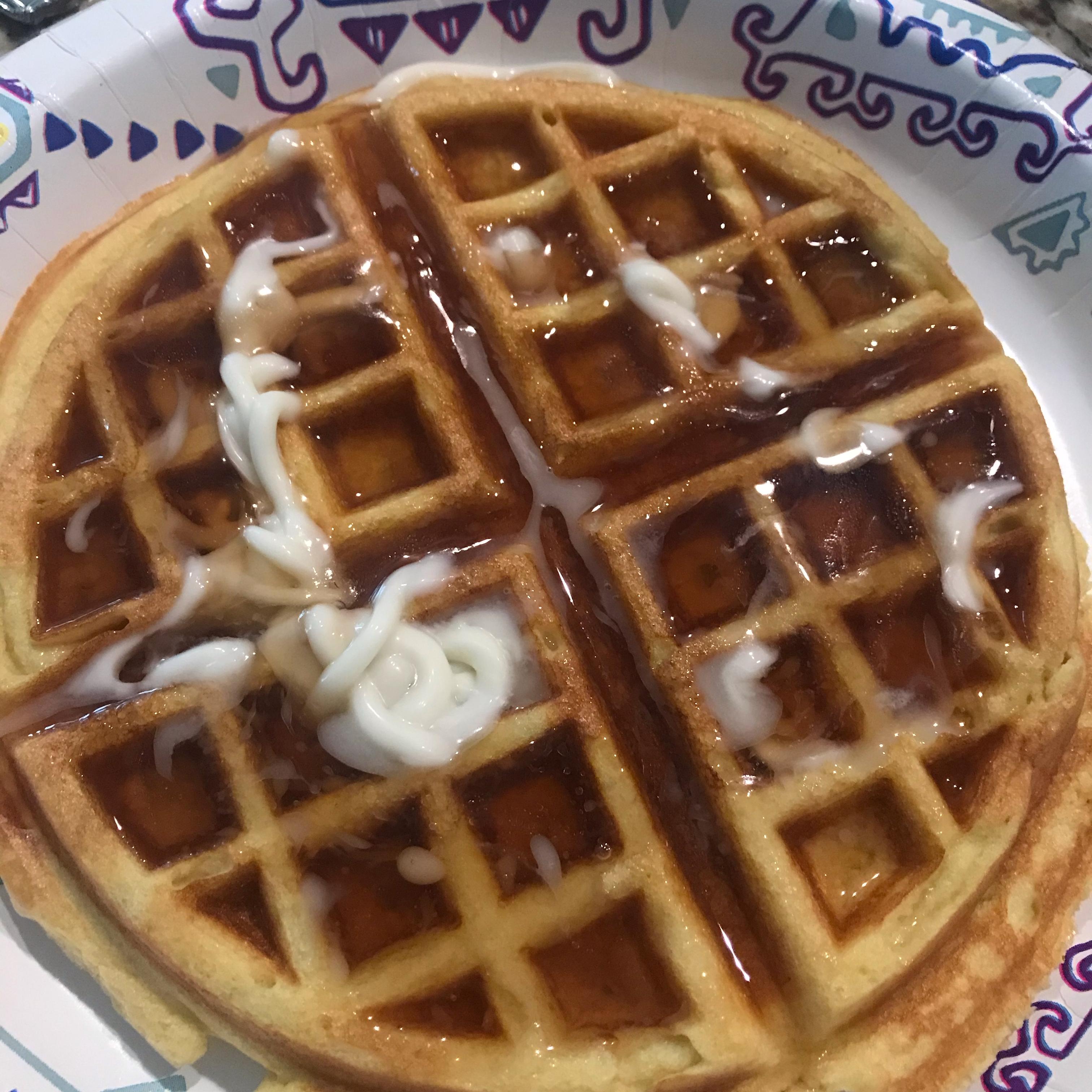 Almond Flour Waffles buzzbobby