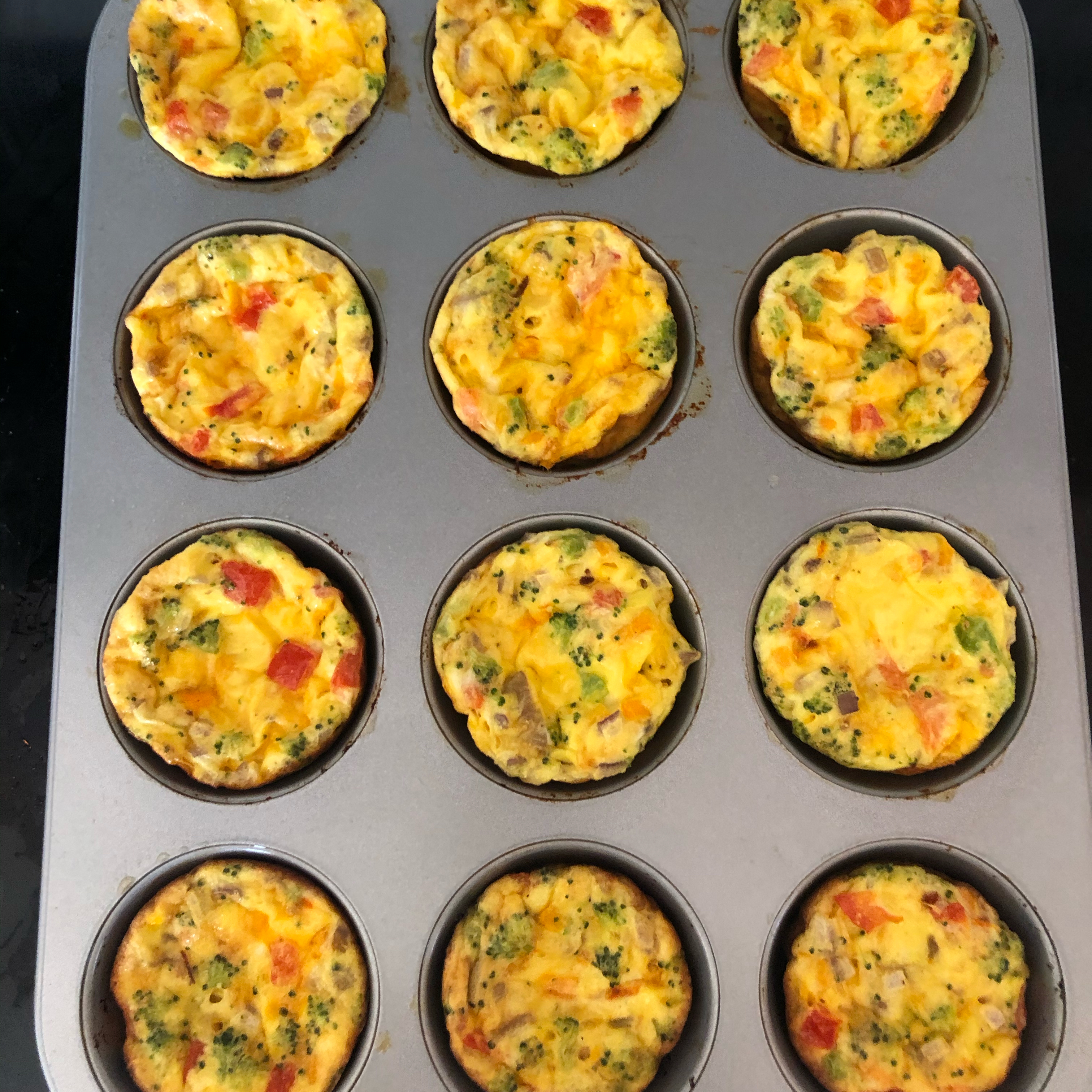 Easy Breakfast Egg Muffins Pam