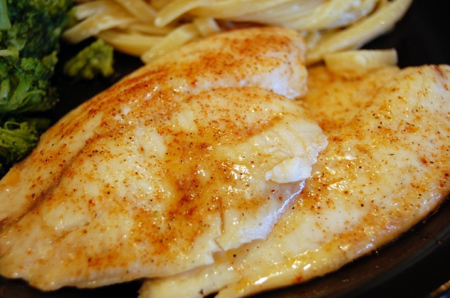 Pan-Fried Tilapia Kim