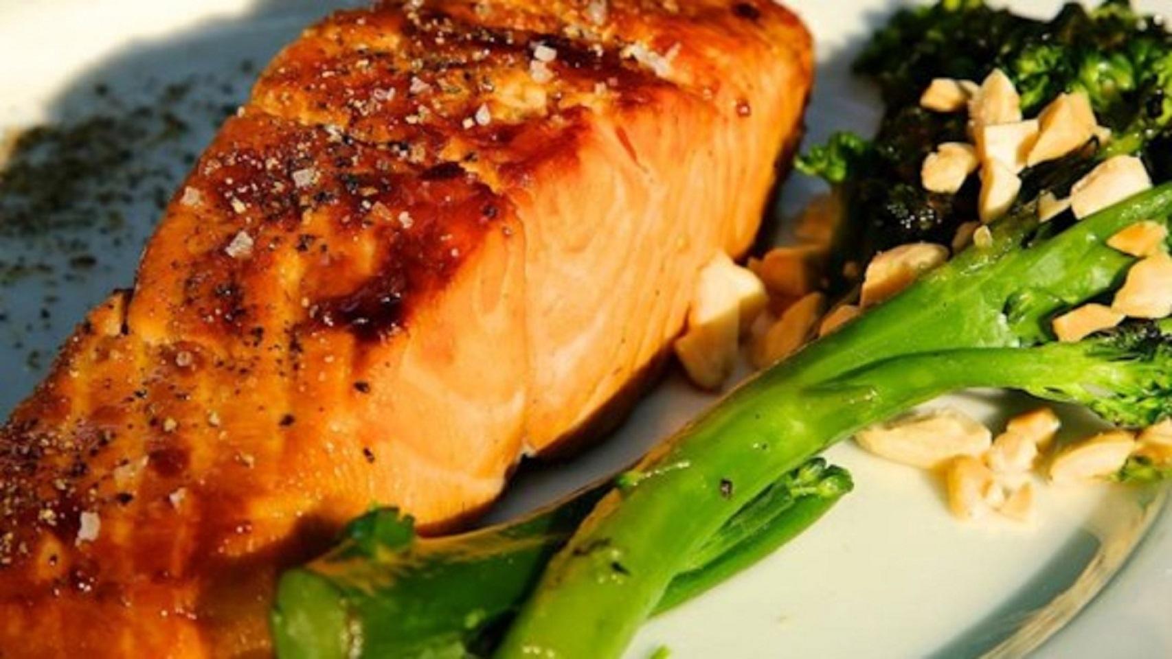 Glazed Salmon Kim