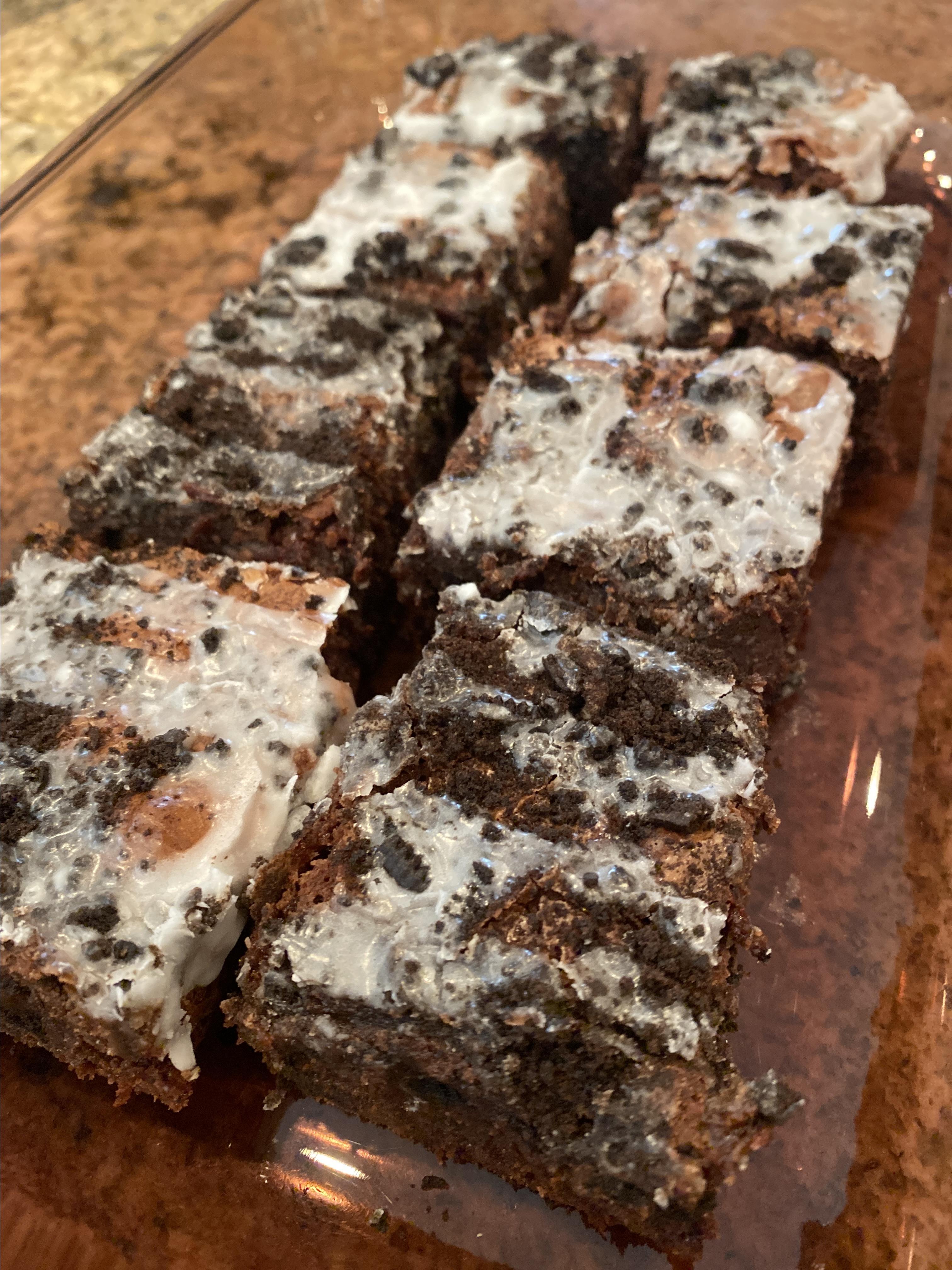 Oreo® Brownies holly