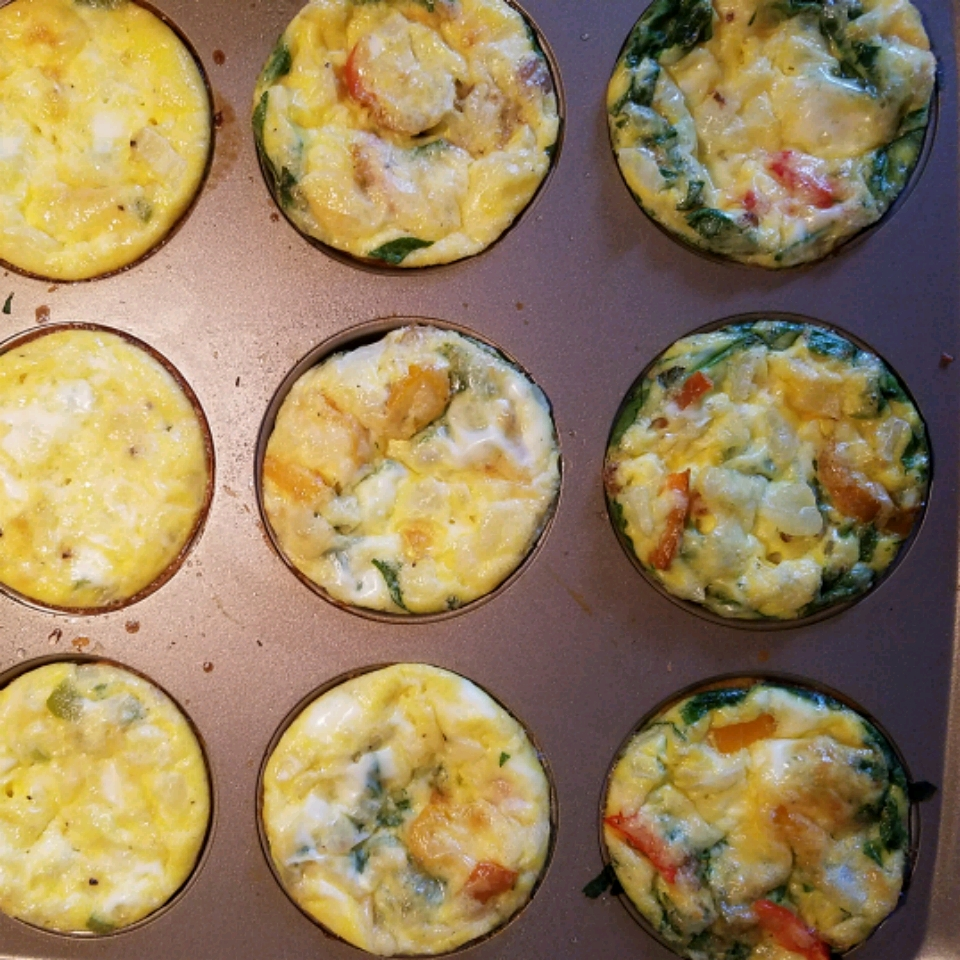 Mini Quiches (Crustless)