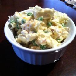 Ginny's Cauliflower and Pea Salad lovestohost