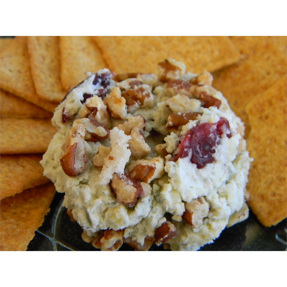 Blue Cheese, Sweet Pecan, and Cranberry Spread Baking Nana