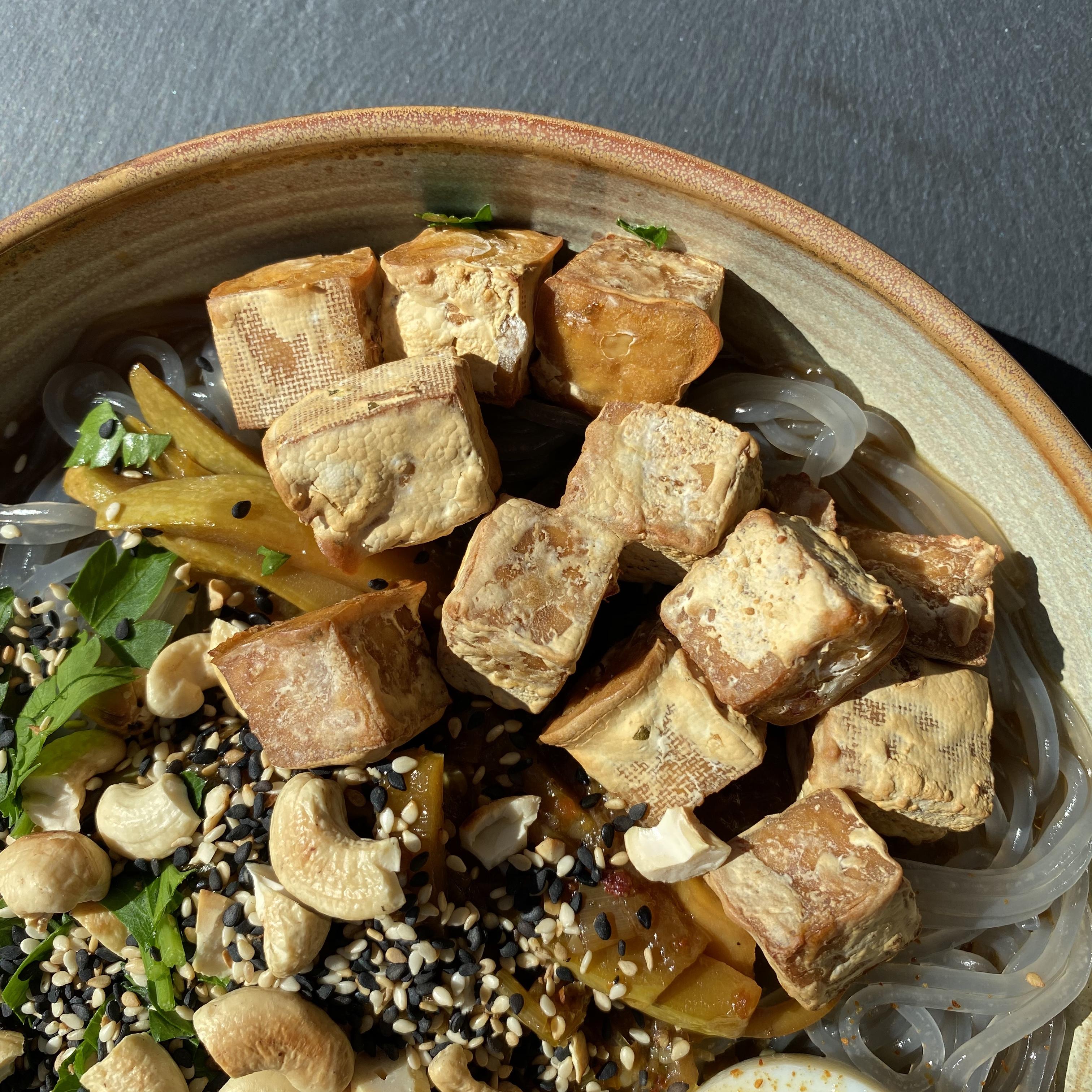 Air Fryer Tofu Buckwheat Queen