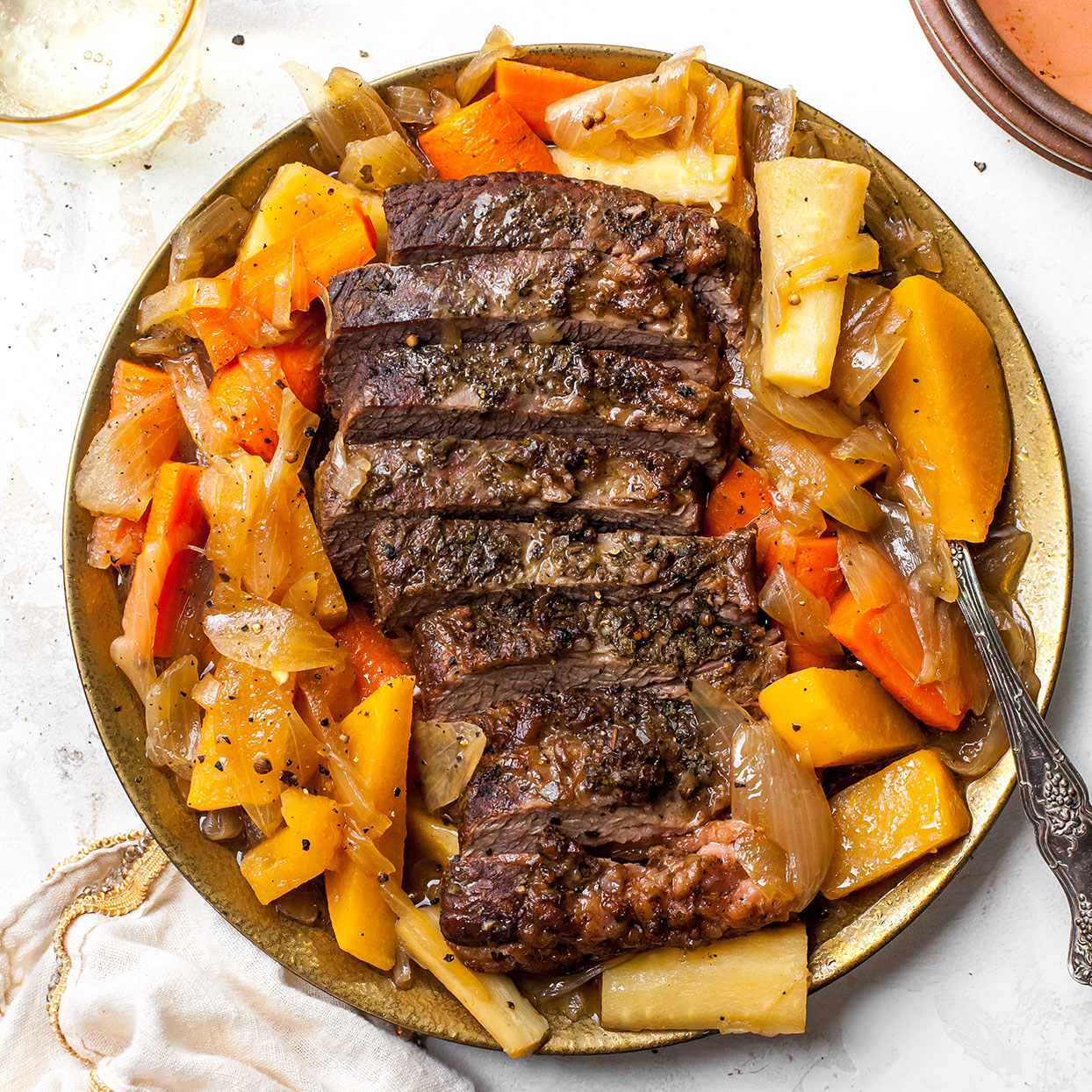 Braised Brisket & Roots EatingWell Test Kitchen