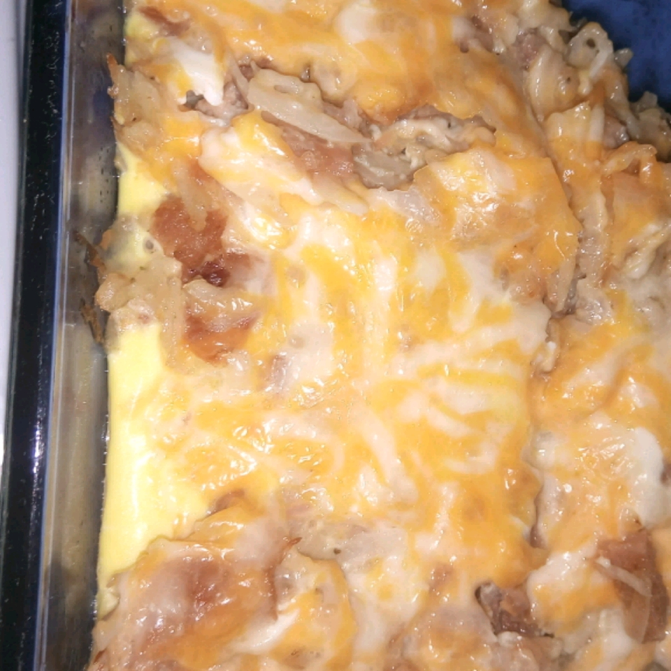 Tellang's Breakfast Casserole Simone Young-Lawes