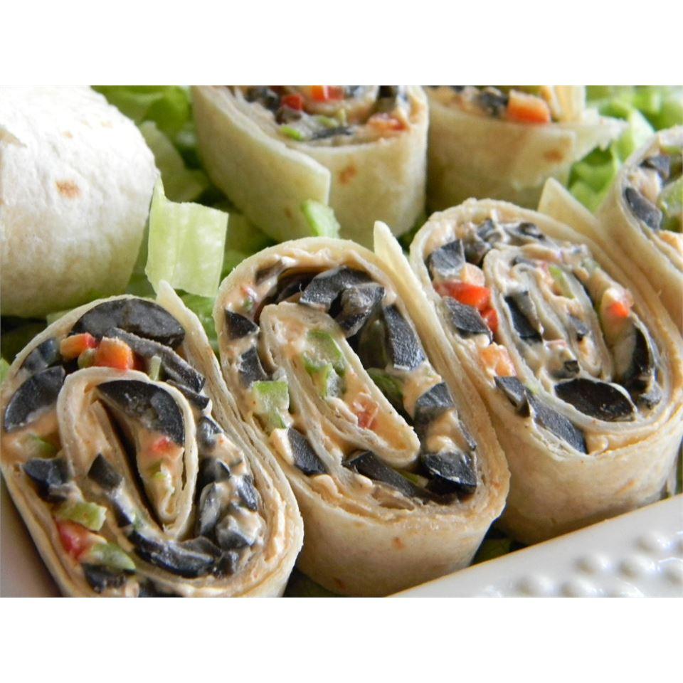 Spicy Roll-ups Baking Nana