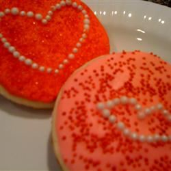 Becky's Sugary Sugar Cookies thedailygourmet