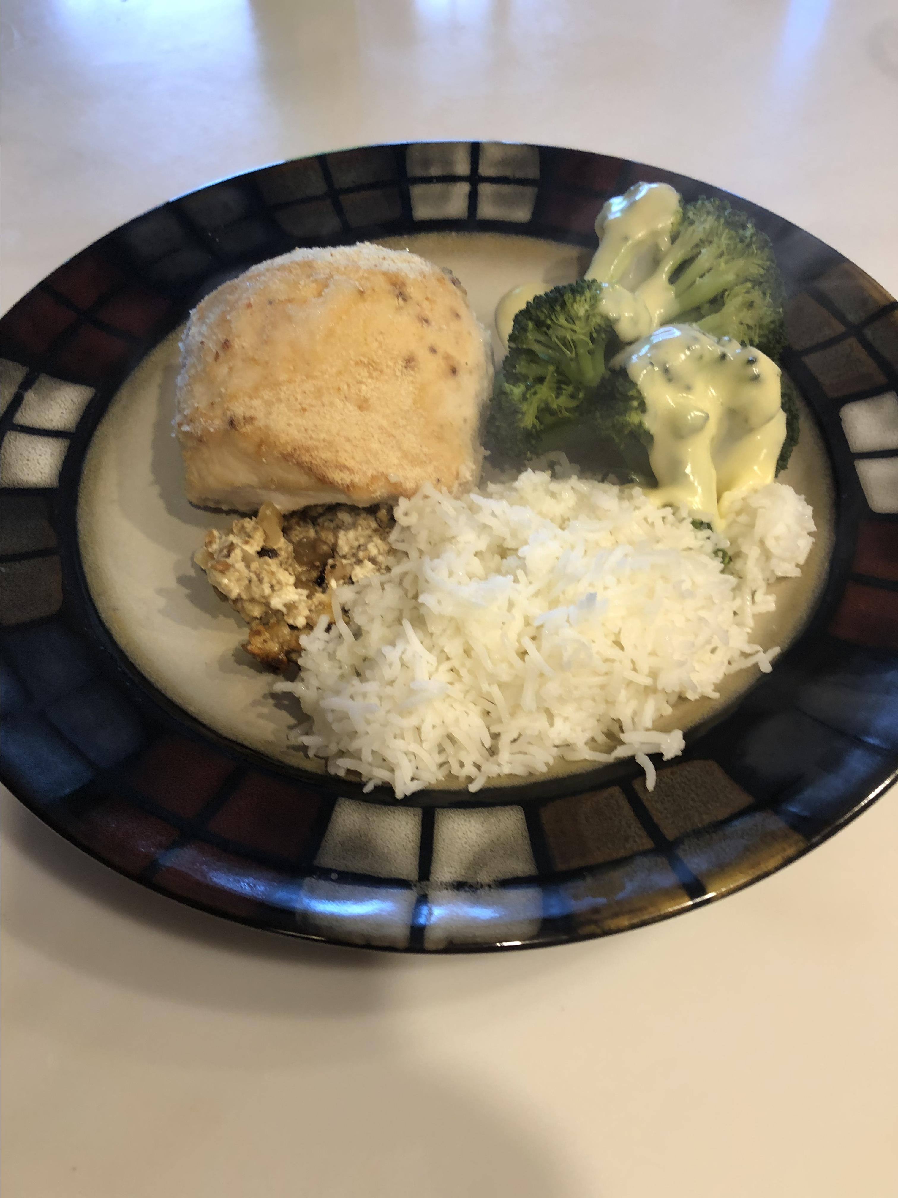 Oven Roasted Stuffed Chicken Breasts
