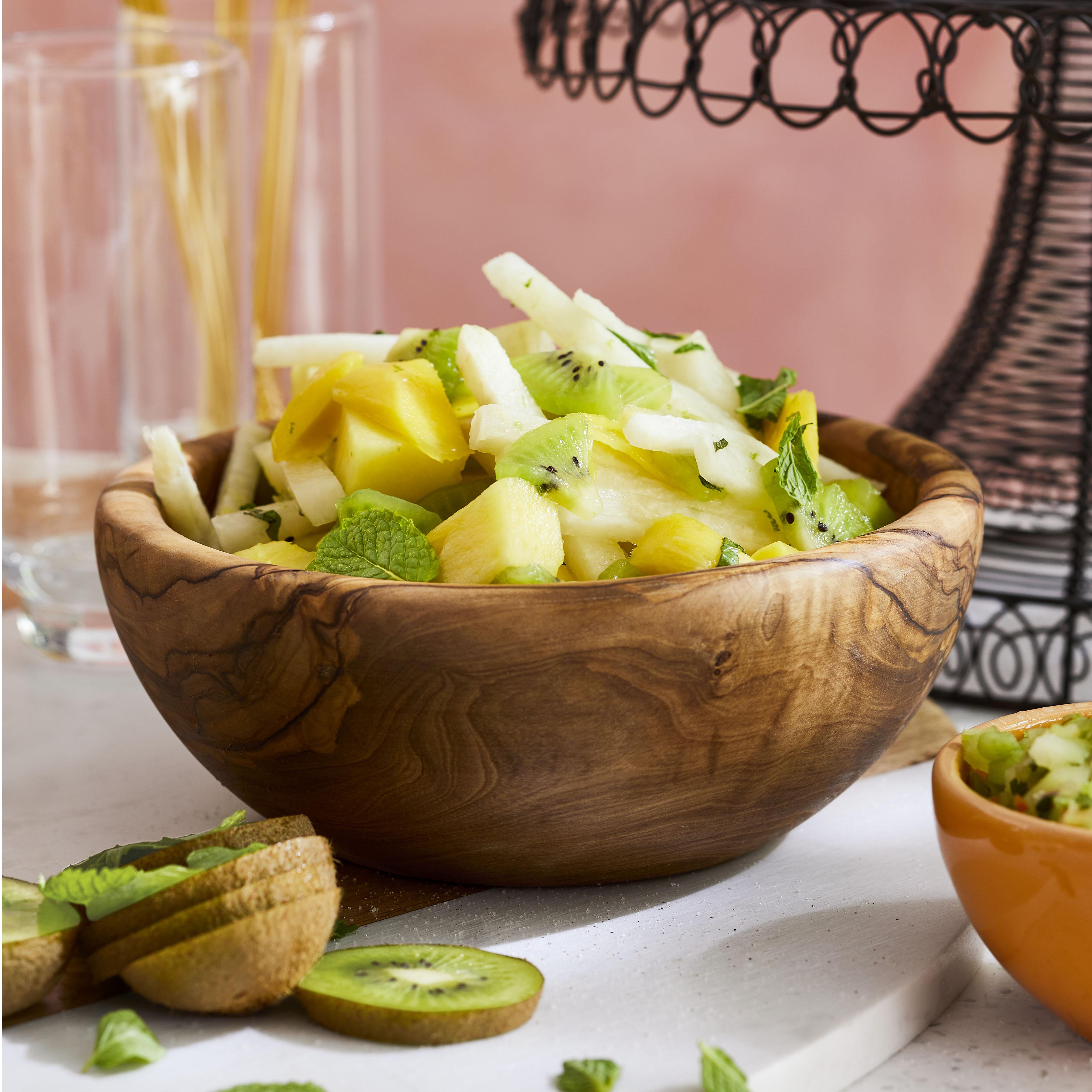 Jicama and Tropical Fruit Salad
