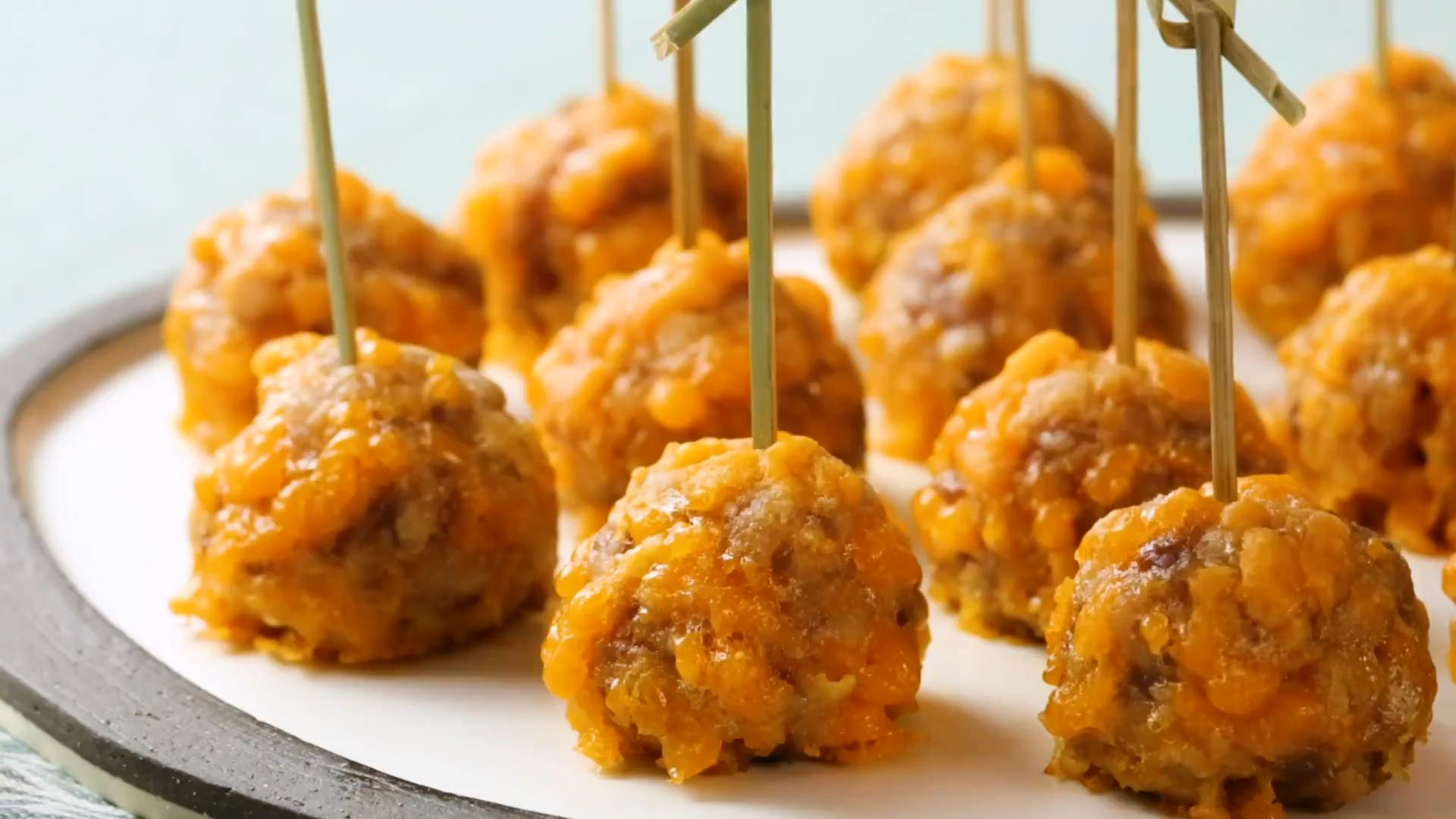 Spicy Sausage Balls without Bisquick®