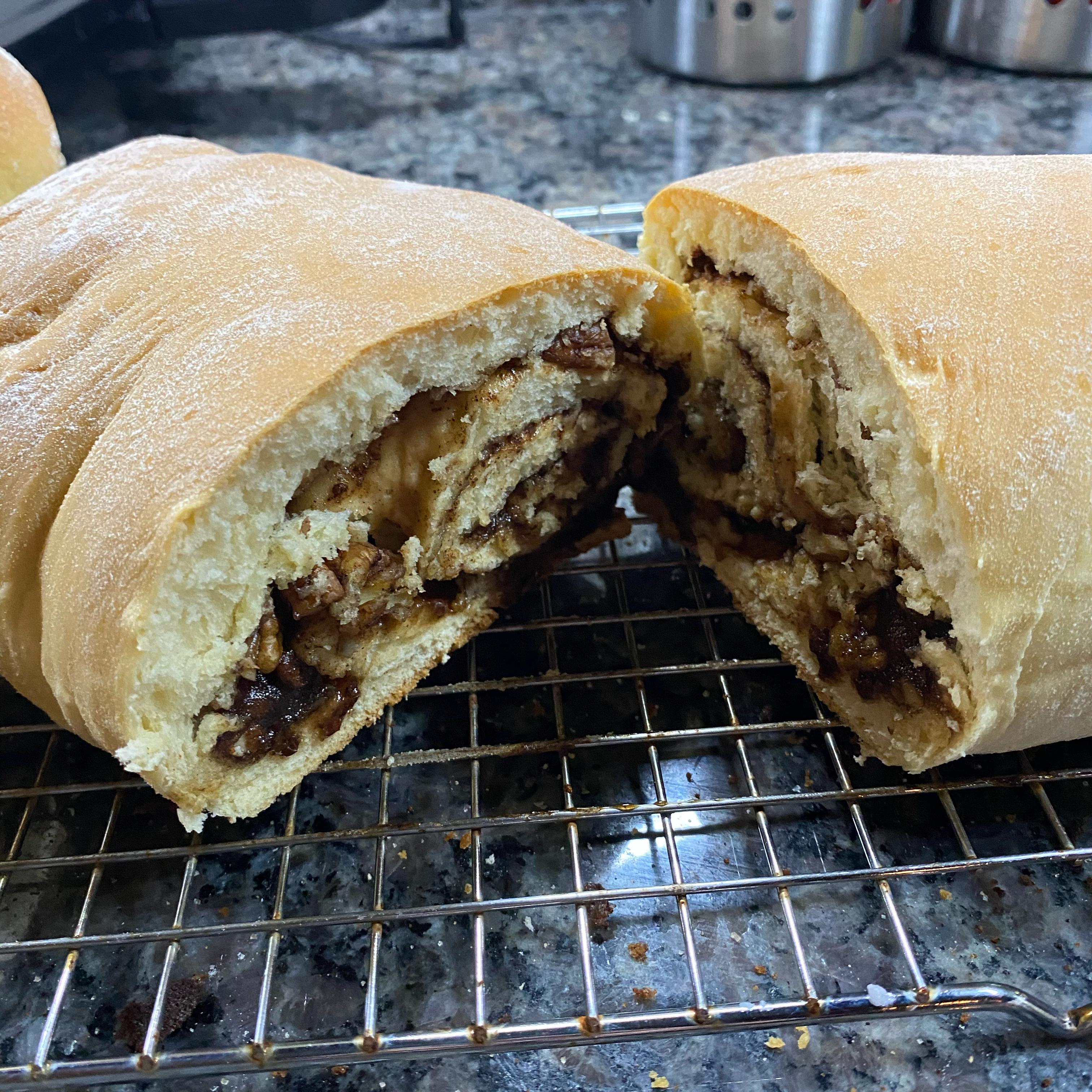 Cinnamon Swirl Bread for the Bread Machine Catherine Baker Anderson