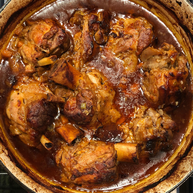 Pork Osso Buco Tosha