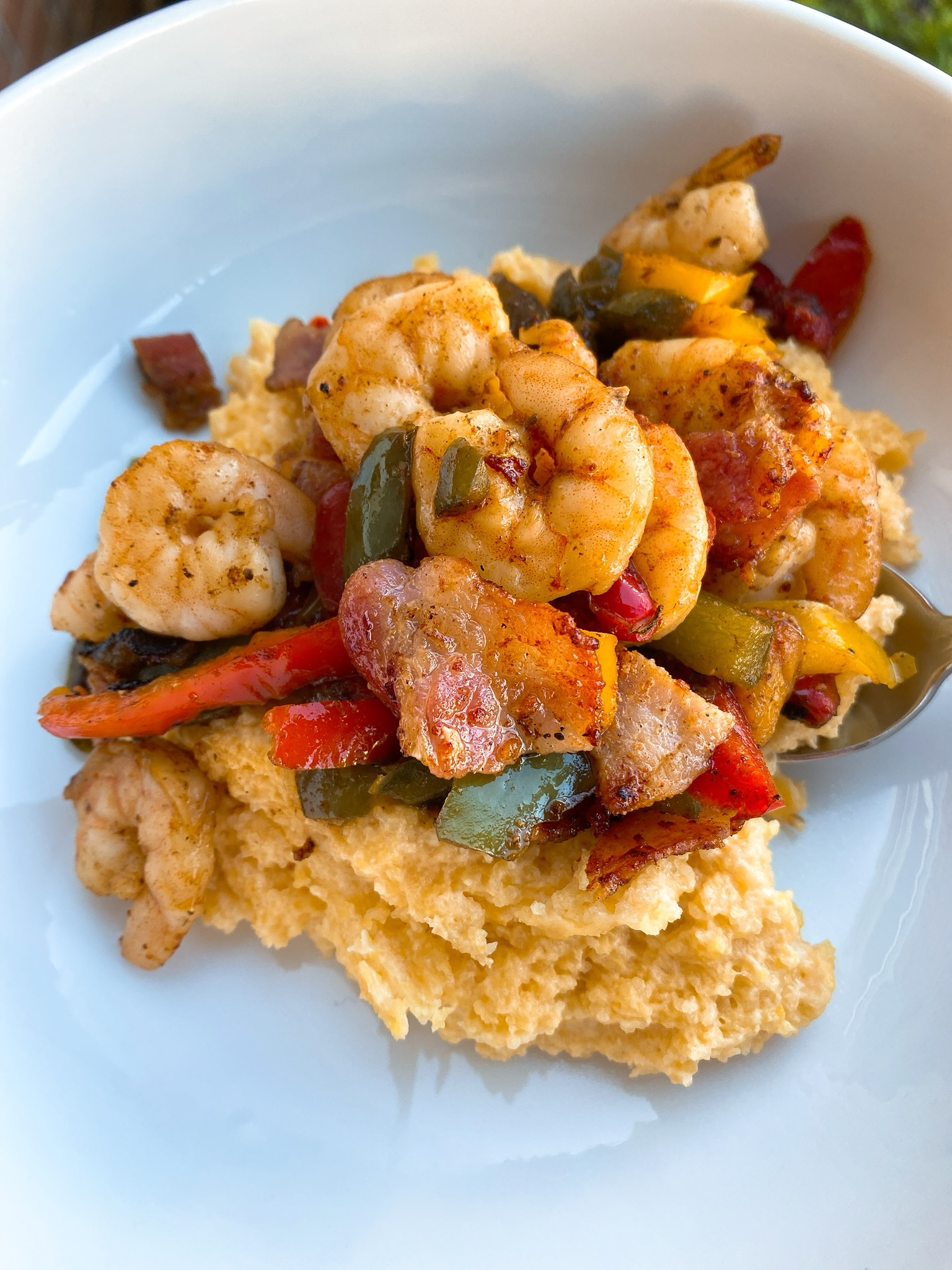 South of the Border Shrimp and Grits