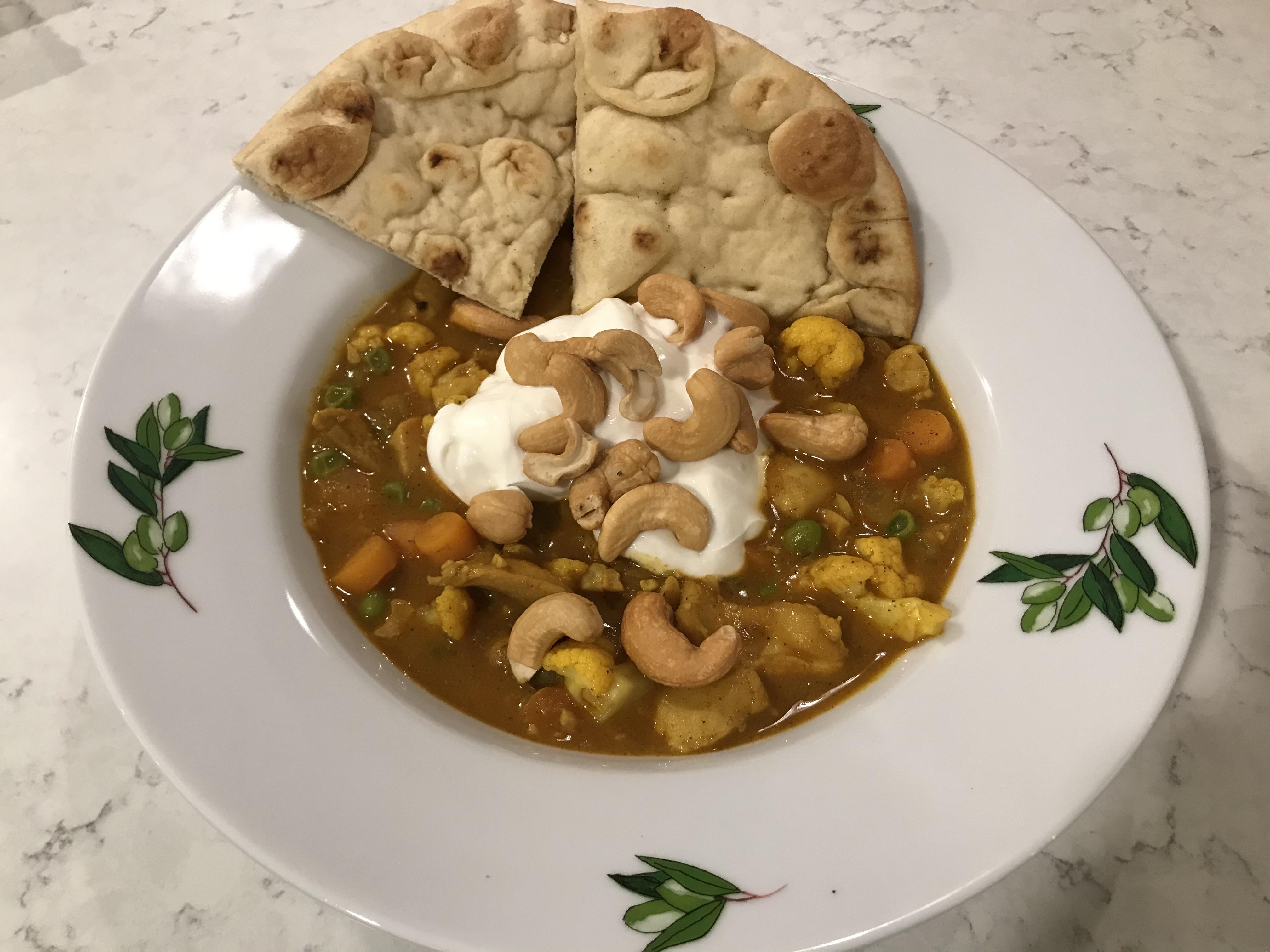 Chicken Cauliflower Korma Suz