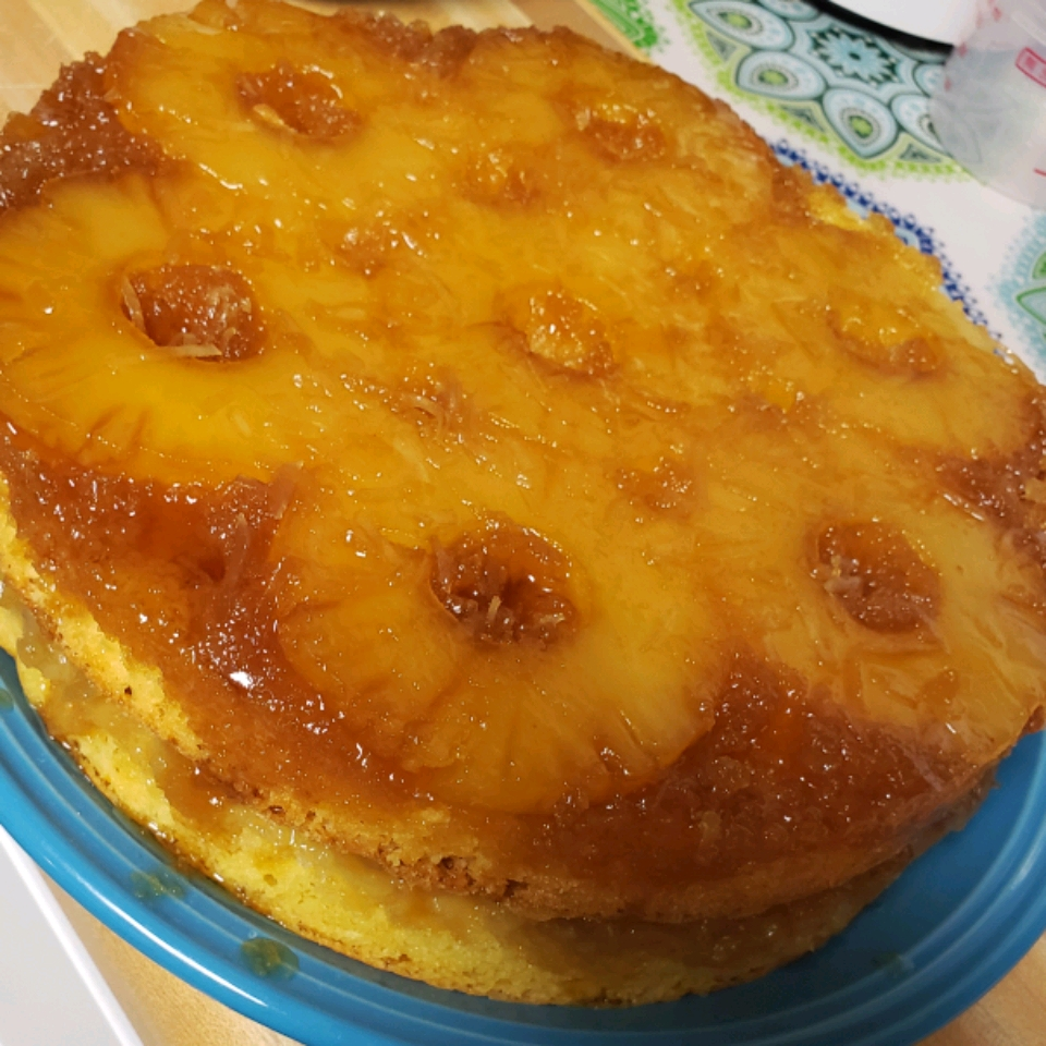 Pineapple Upside-Down Cake V Emily Rivera