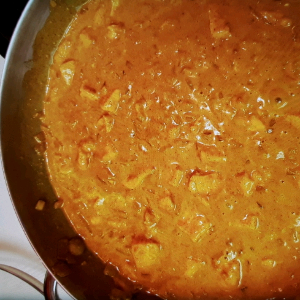 Creamy Curried Chicken Amy