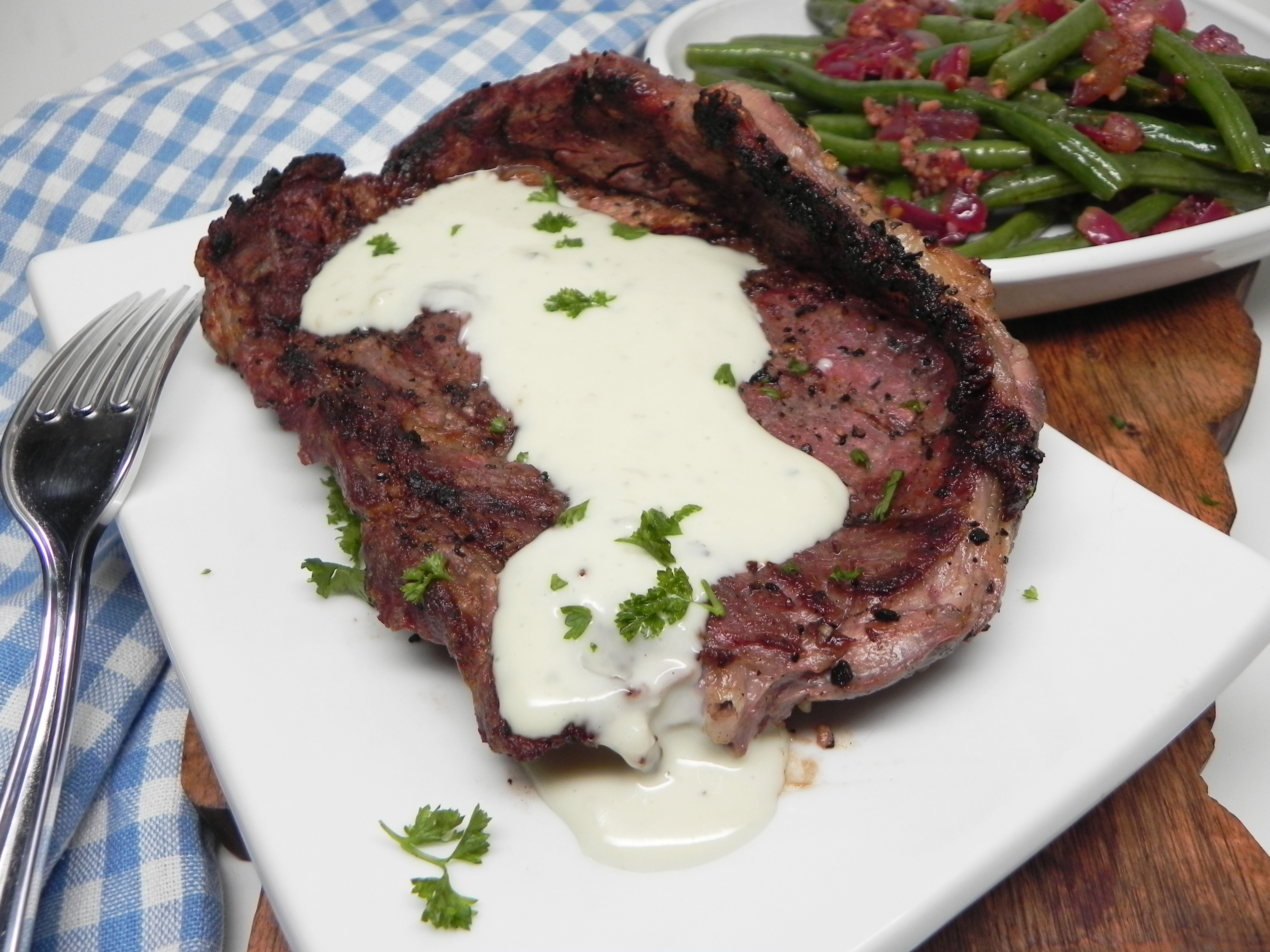 Easy Truffled Blue Cheese Sauce