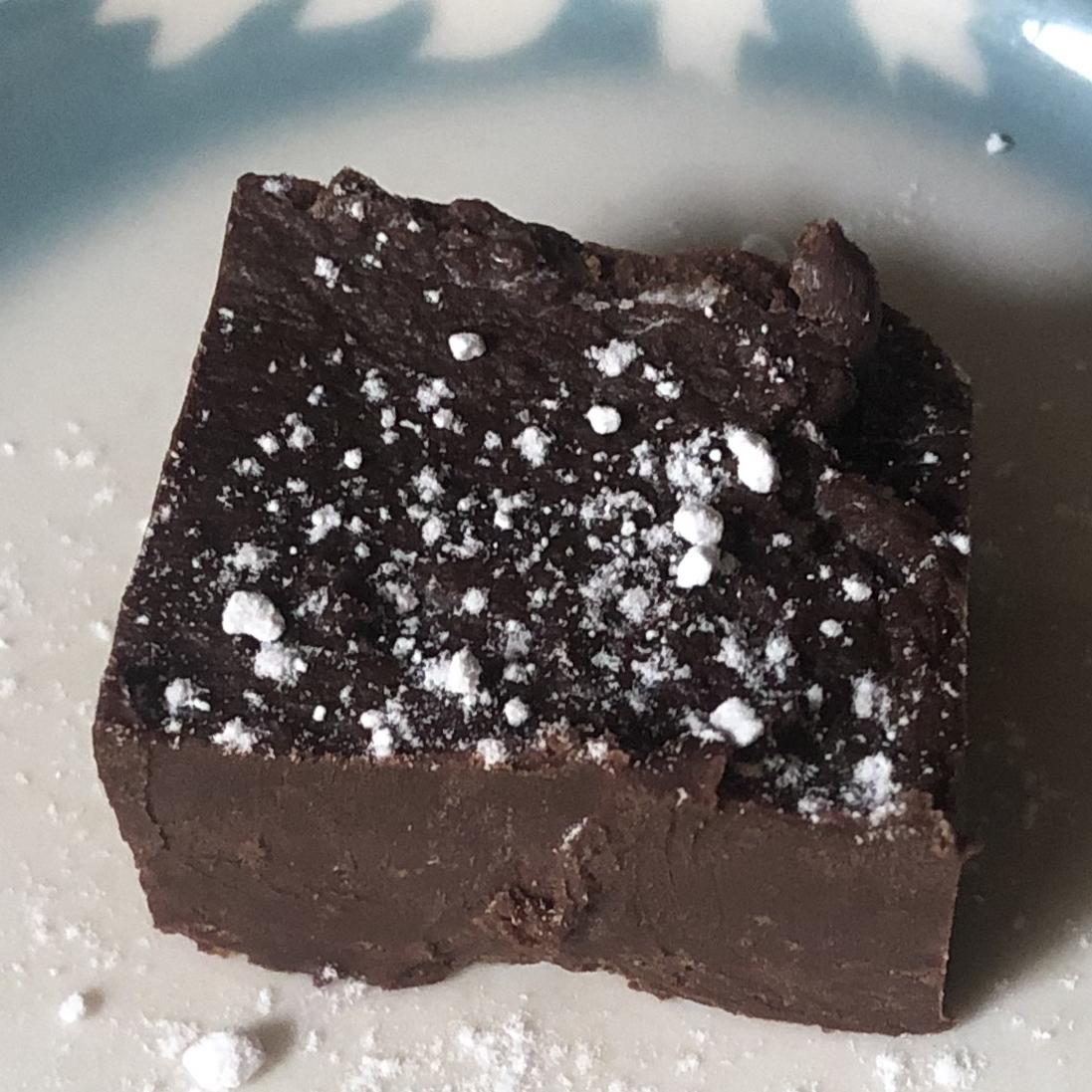 Dark Chocolate Peppermint Fudge tfelske