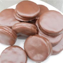 Chocolate Coated Peanut Butter Crackers
