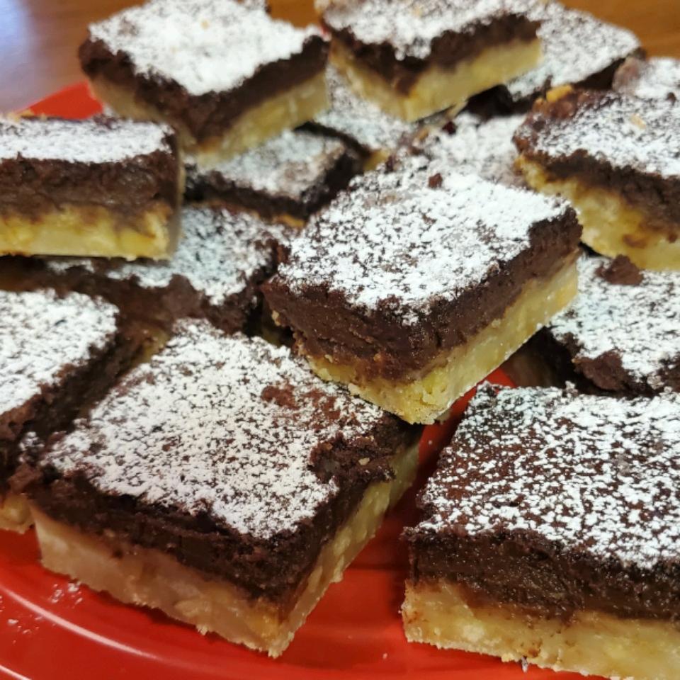 Chocolate Walnut Bars Shadell Carmon