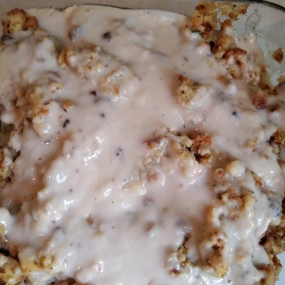 One-Dish Chicken and Stuffing Bake Bradley Falls