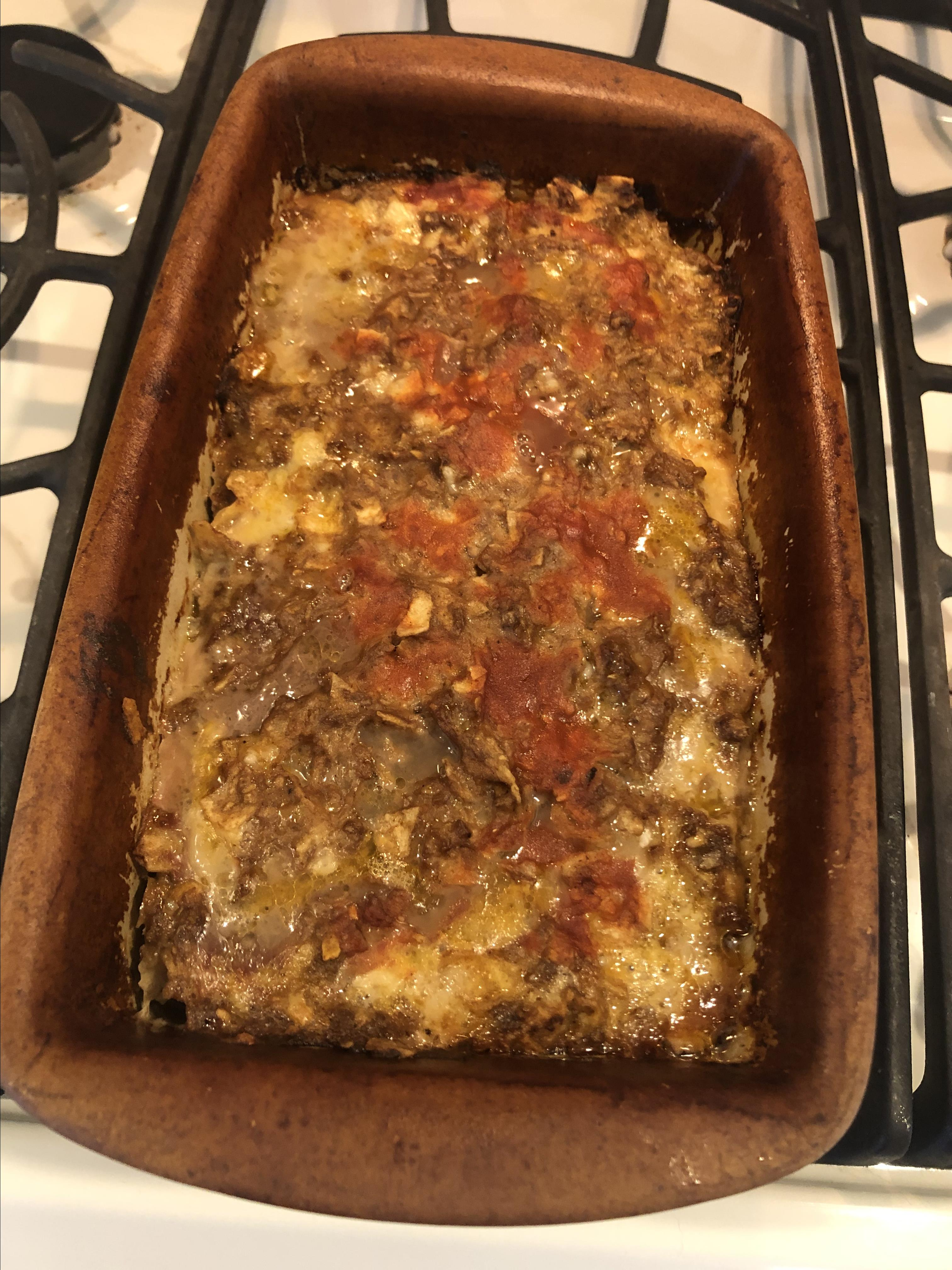 Mexican Taco Meatloaf Laura Wilson