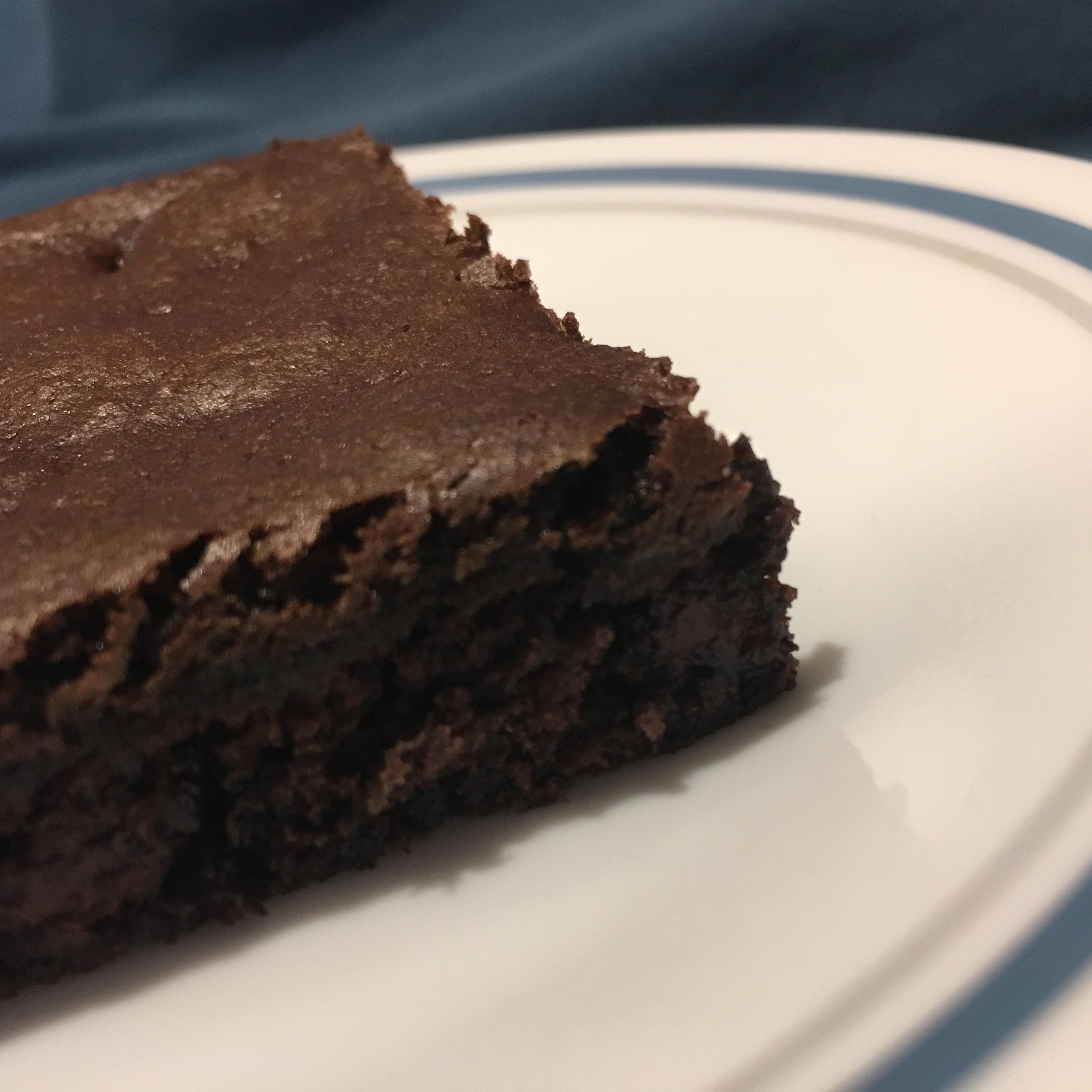 Moist Cake Mix Brownies