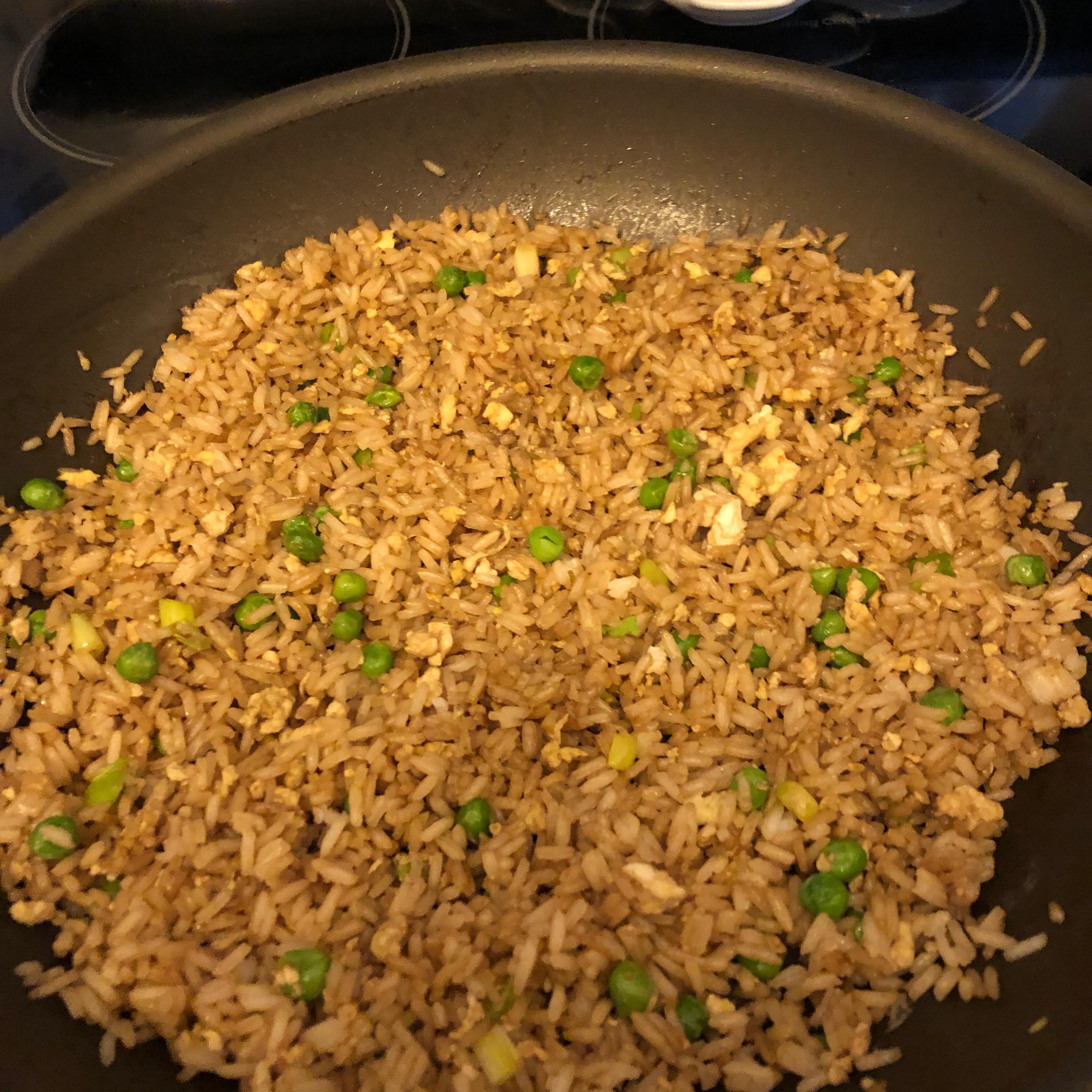 Fried Rice Restaurant Style Vicki Liddell