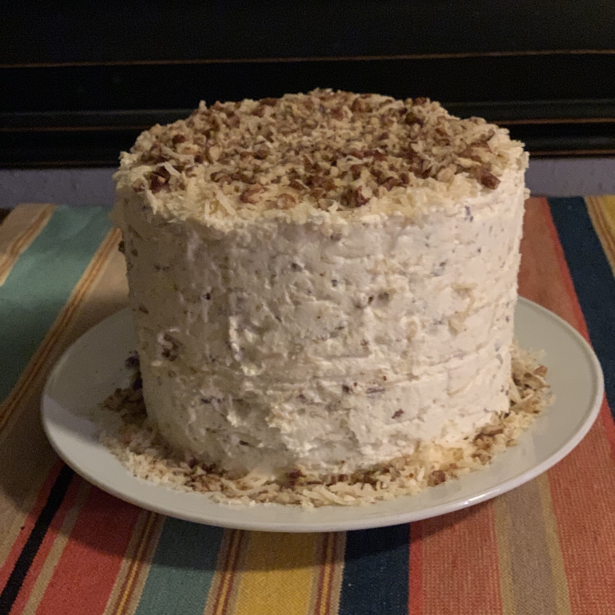 Buttercream-Coconut Cake Icing