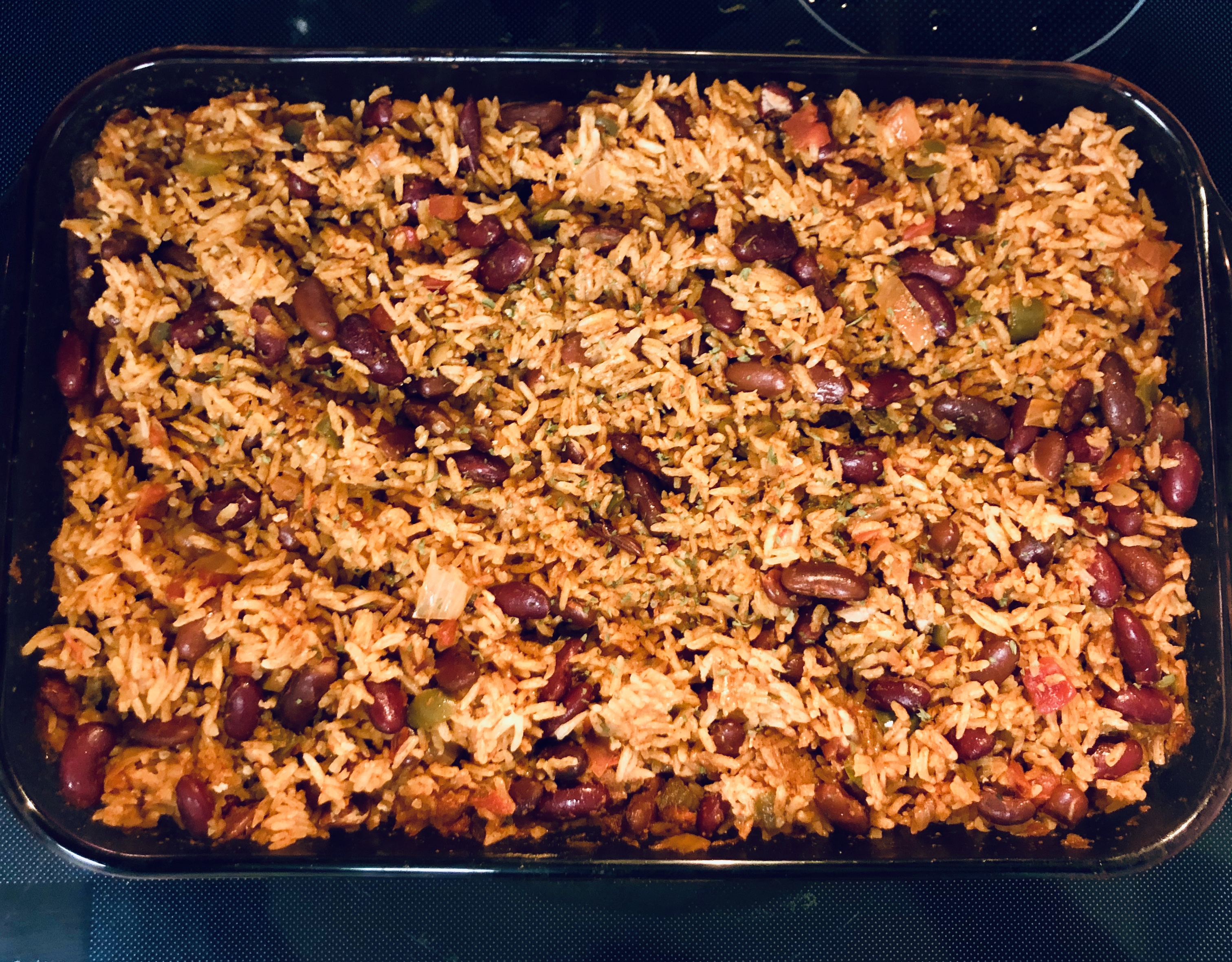 The Best Baked Rice and Beans TaKesha Anderson