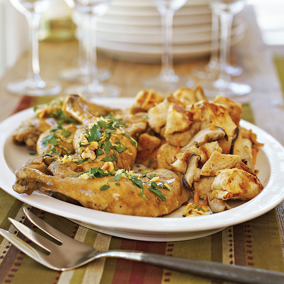 Lemon Chicken with Stuffing Diabetic Living Magazine