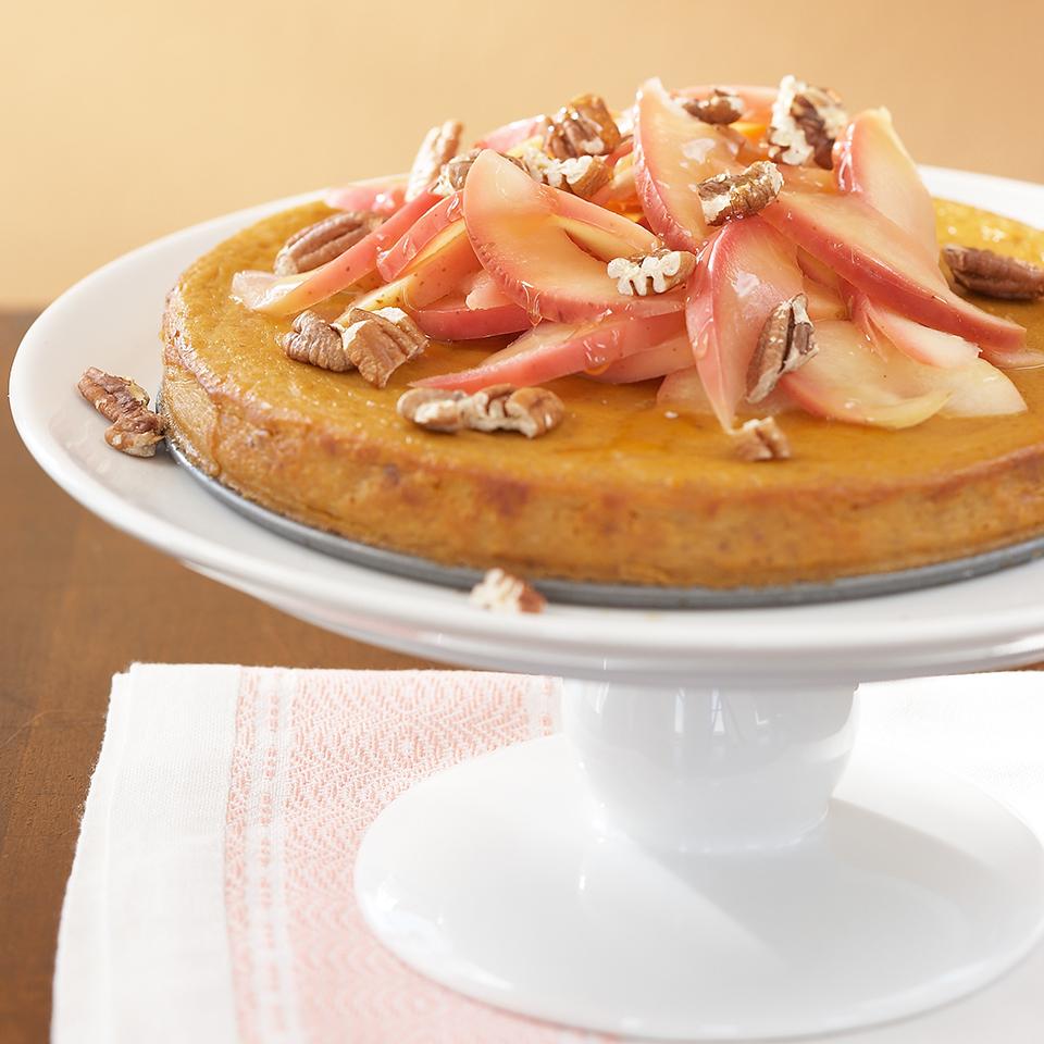 Maple-Apple Pecan Crunch Pumpkin Pie Trusted Brands