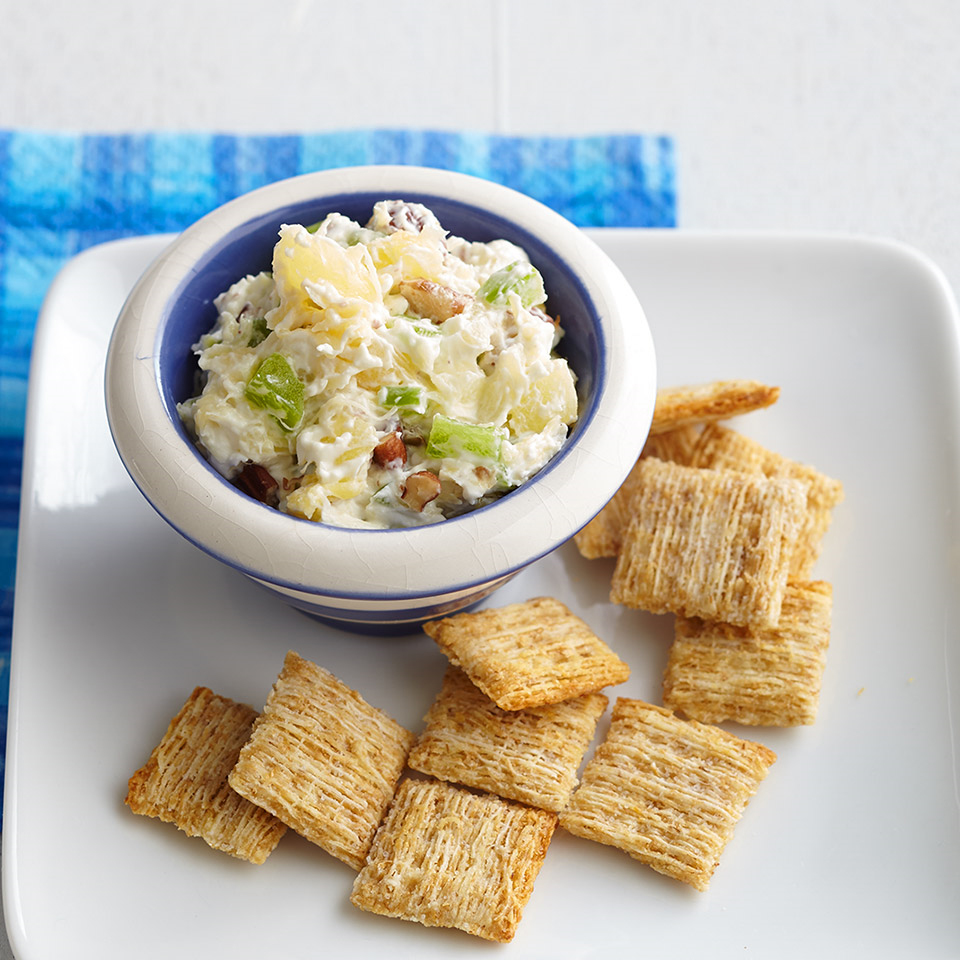 Cream Cheese Dip and Crackers Diabetic Living Magazine