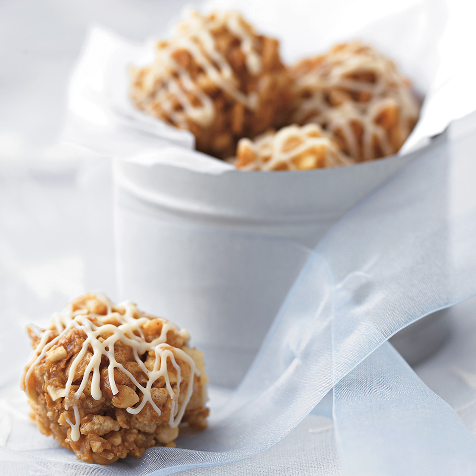 Peanut-Apple Crunch Balls Diabetic Living Magazine