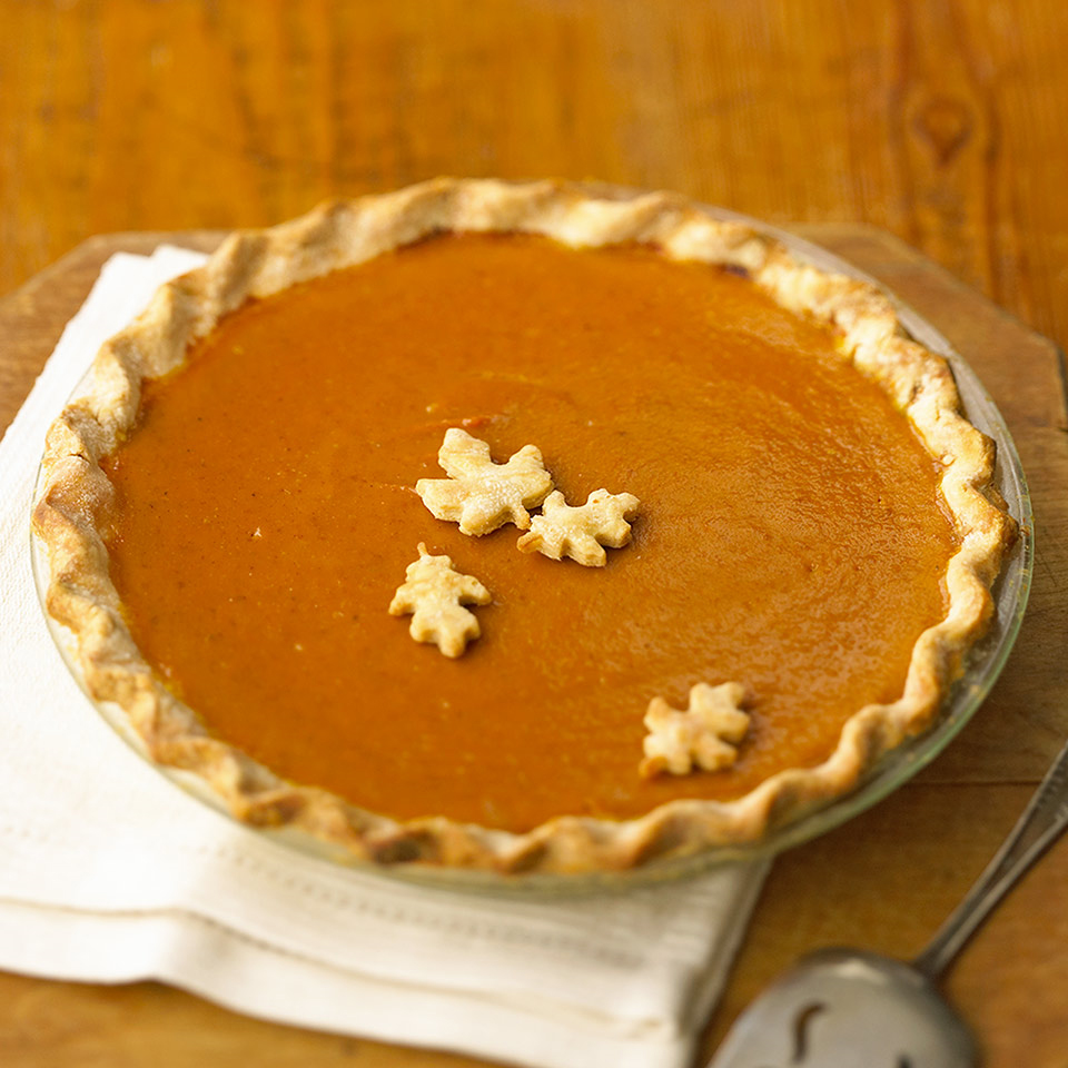 Light and Luscious Pumpkin Pie Trusted Brands