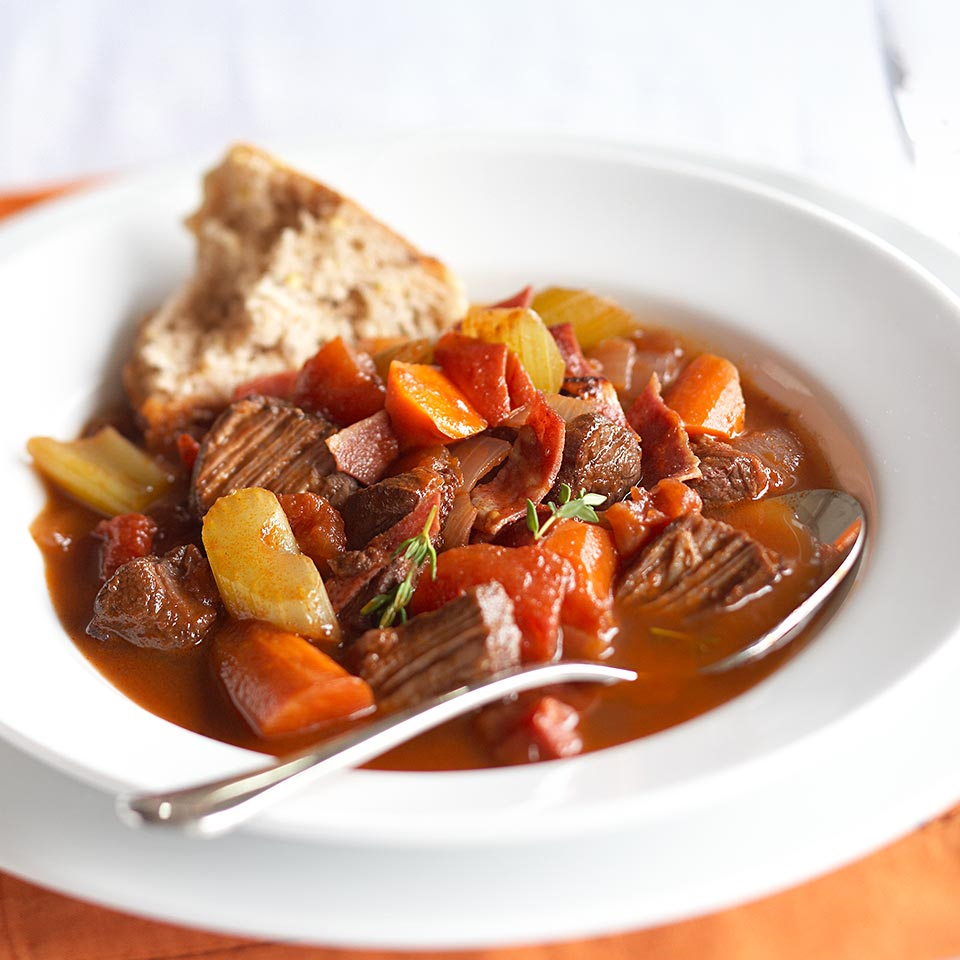 Hearty Beef and Vegetable Stew Diabetic Living Magazine