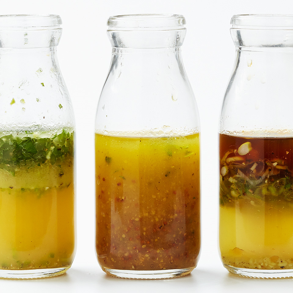 A healthy, tasty homemade salad dressing is as simple as shaking a few ingredients in a jar.
