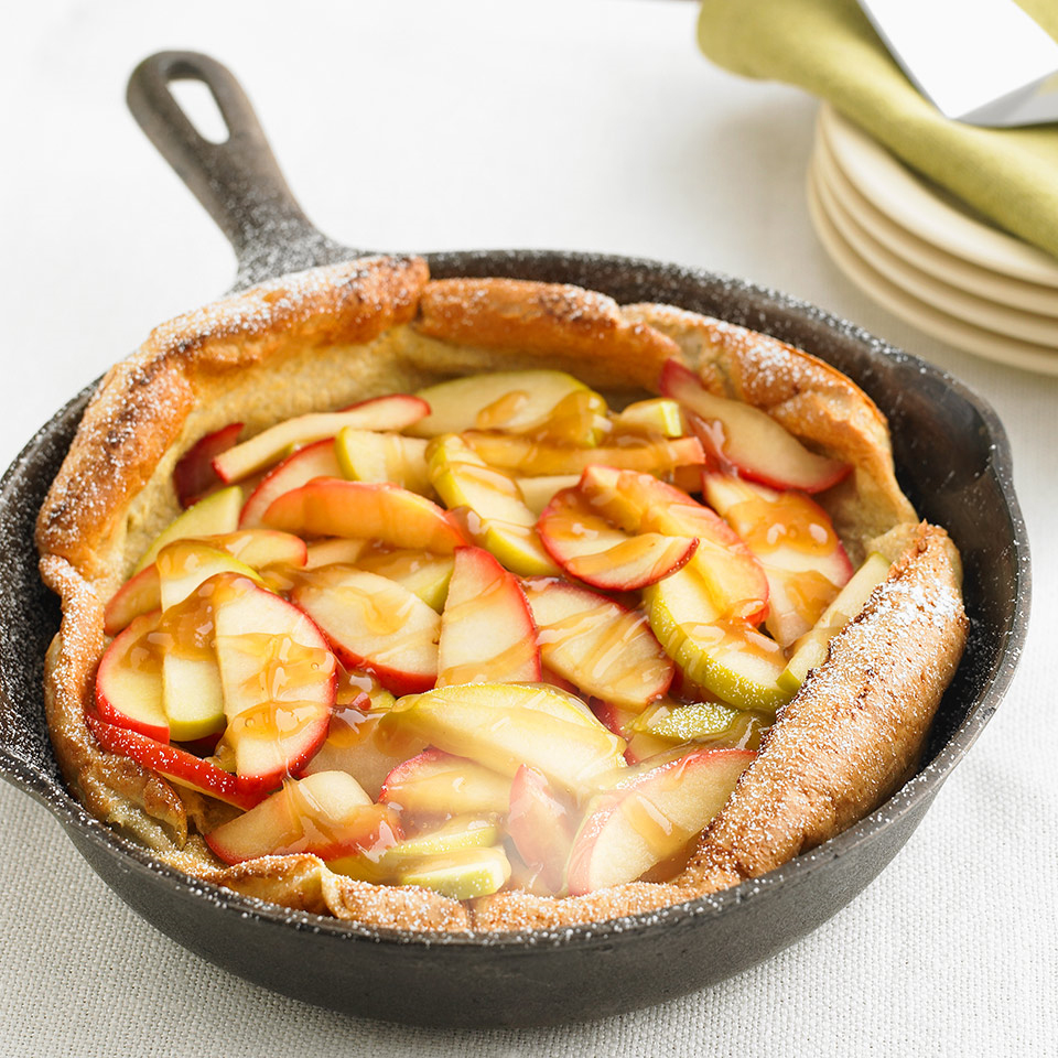 Apple Puffed Oven Pancake Diabetic Living Magazine