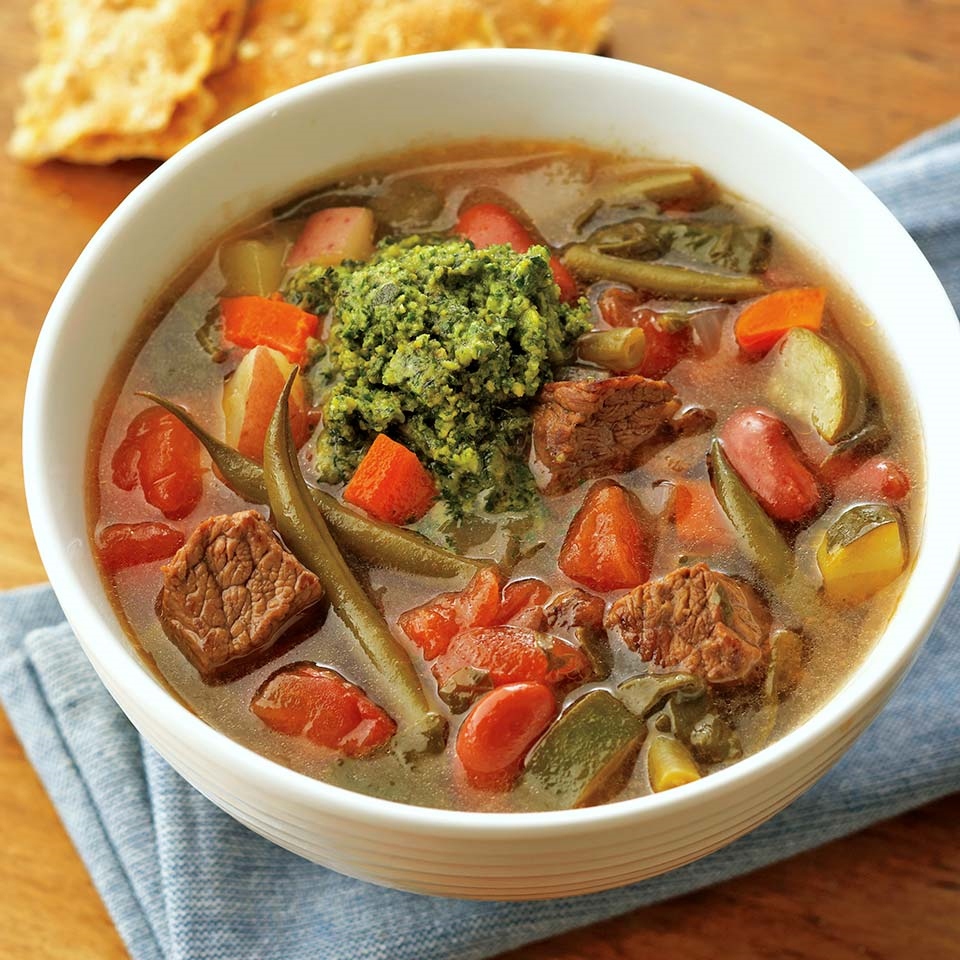 French Beef Stew au Pistou Trusted Brands