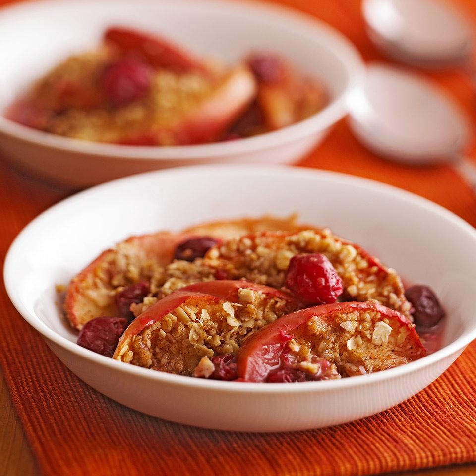 Cranberry Apple Pie Crisp Diabetic Living Magazine