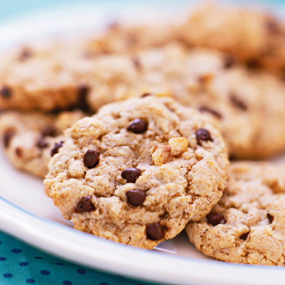 Barley-Oat Chocolate Chip Cookies Diabetic Living Magazine