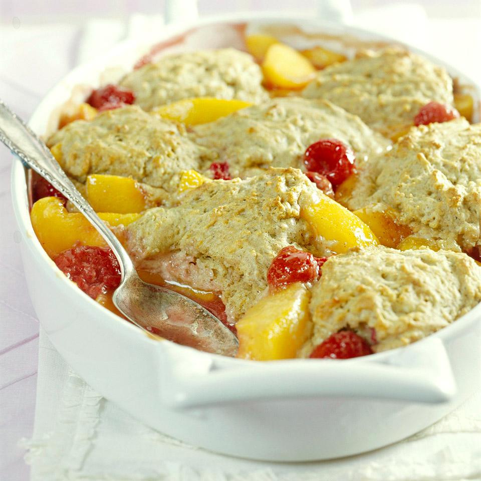 Peach-Berry Cobbler Trusted Brands