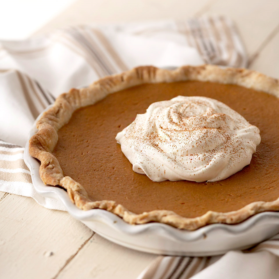 Pumpkin-Maple Pie Diabetic Living Magazine