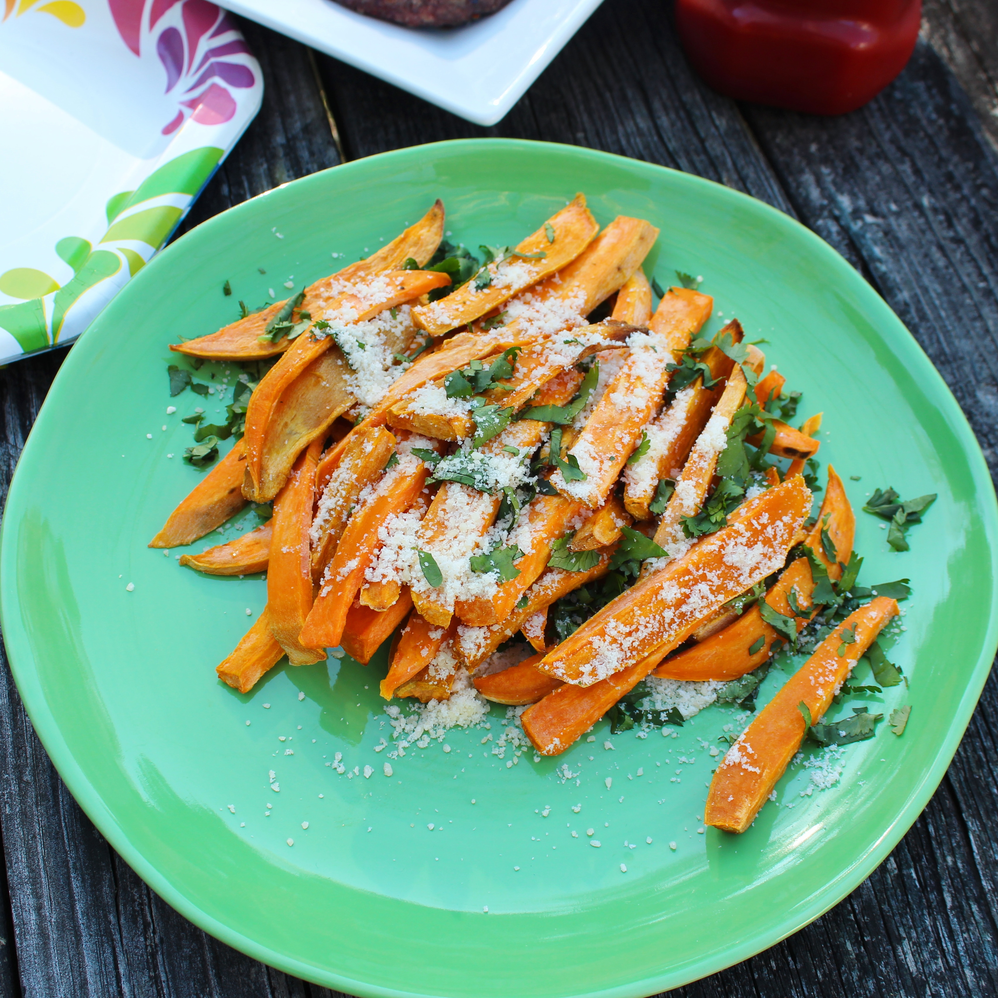 Sweet Potato Fusion French Fries Chef Mo