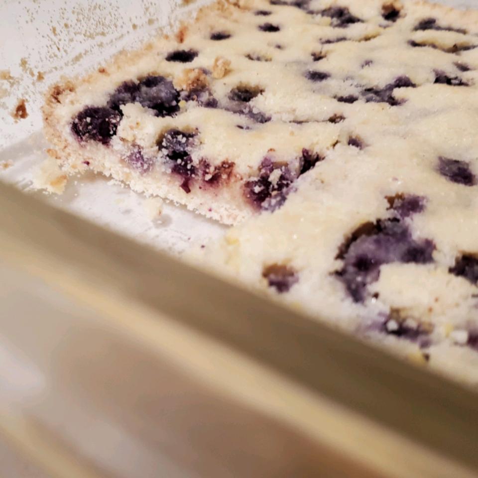 Blueberry Shortbread Bars